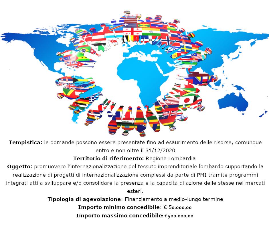Internazionalizzazione Lombardia